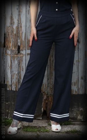Rumble59 Ladies - Sailor Marlene Pants