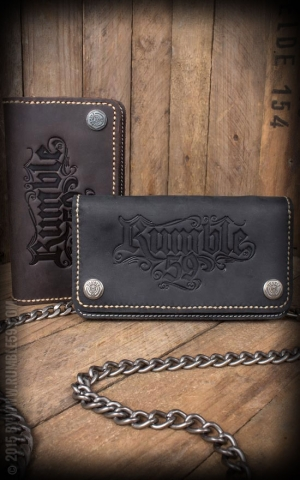 Rumble59 - Leather Wallet - brown or black