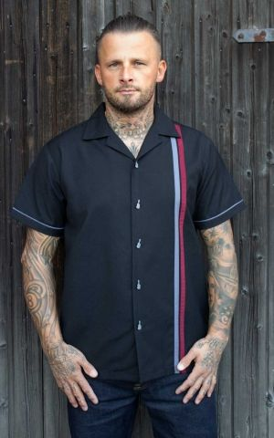Rumble59 - Lounge Shirt - Man in Black