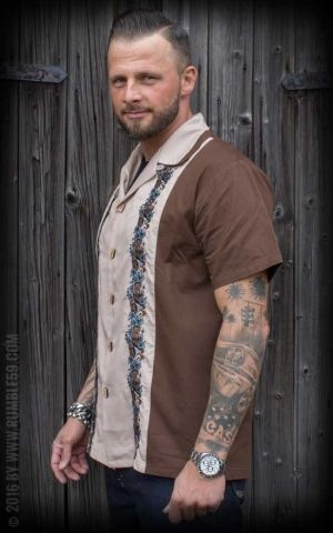 Rumble59 - Lounge Shirt - Aloha Tiki