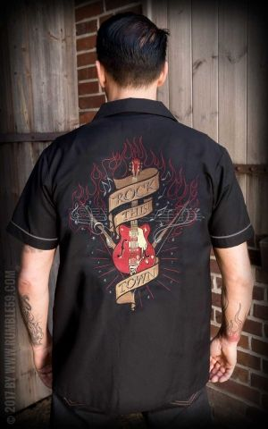 Rumble59 - Lounge Shirt - Rock this town