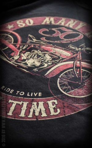 Rumble59 - Many Roads - Little Time - T-Shirt
