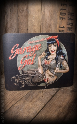 Rumble59 - Mousepad - Garage Gal