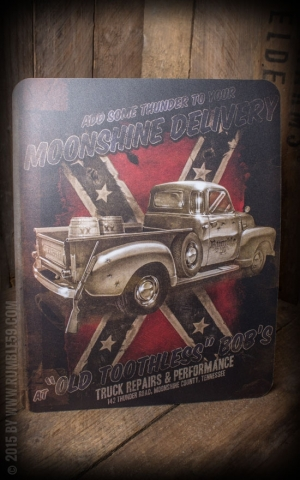 Rumble59 - Mousepad - Moonshine Delivery