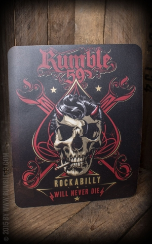 Rumble59 - Tapis de souris- Rockabilly will never die