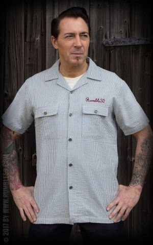 Rumble59 - Gas Station Shirt - Piston Pete