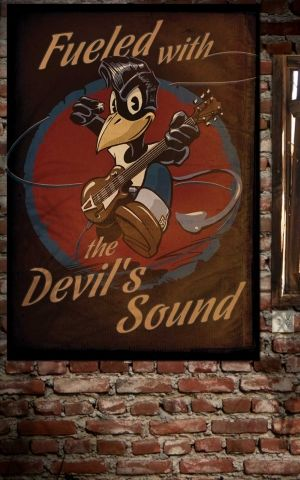 Rumble59 Poster - The Devils Sound