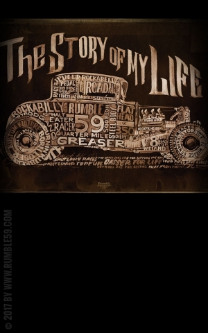 Rumble59 Poster - Story of my life