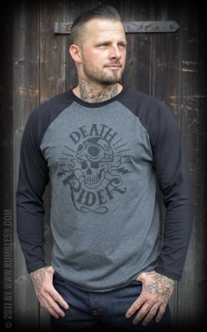 Rumble59 - Raglanshirt - Death Rider