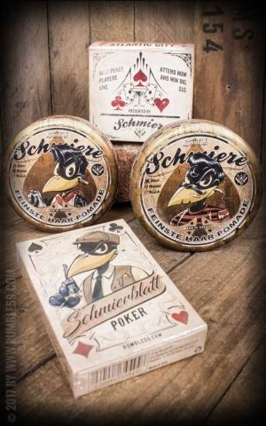 Rumble59 - Schmiere - Set 2x Poker Pomade with Poker Game