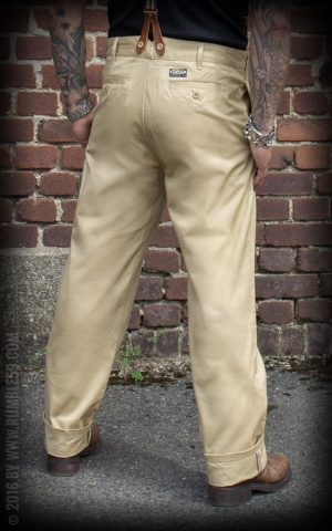 Rumble59 - Selvage Chino Pants California
