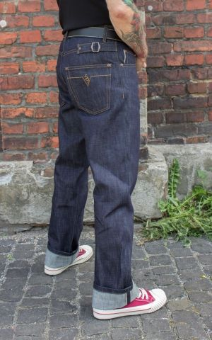 Rumble59 - Raw Selvage Denim - Double Back