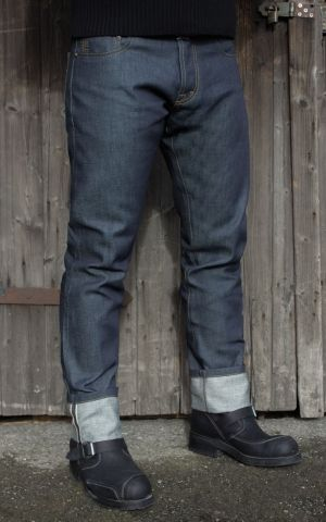 Rumble59 Jeans - Male Slim Fit RAW Selvage Denim