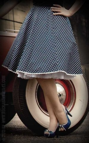 Rumble59 Ladies - Tellerrock - Sweet Polkadots