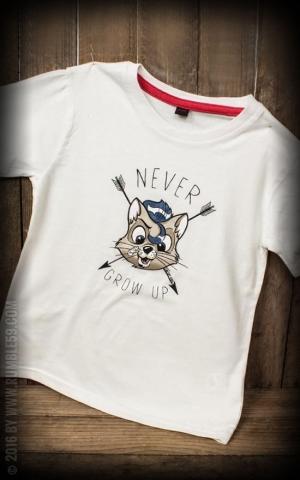 Rumble59 - Sling Shot Rebels - Kids Shirt - Never grow up
