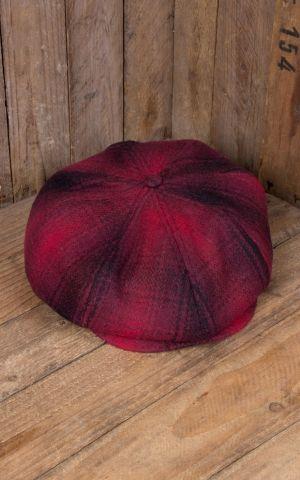 Rumble59 - Slugger Cap - à carreaux rouge/noir