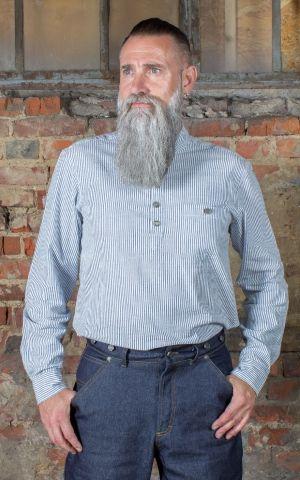 Rumble59 - Stehkragenhemd - Dapper Workman