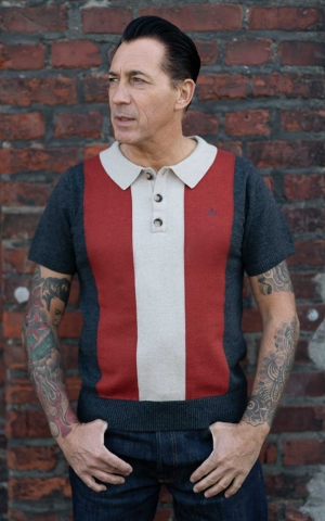 Rumble59 - Knitted Polo Shirt - Portland