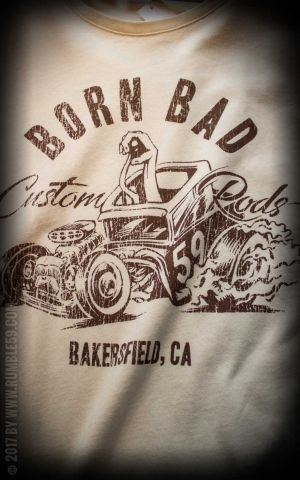 Rumble59 - T-Shirt - Born Bad - offwhite