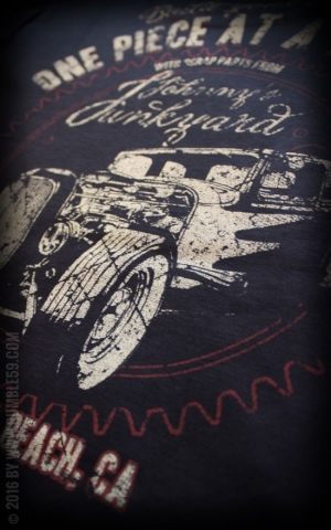 Rumble59 - Johnnys Junkyard - T-Shirt