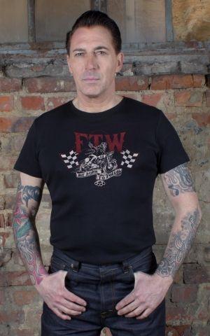Rumble59 - T-Shirt - Not born to follow