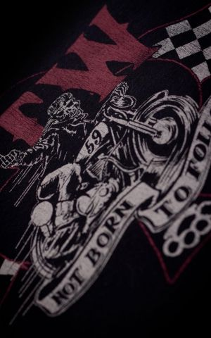 Rumble59 - T-Shirt - Not born to follow