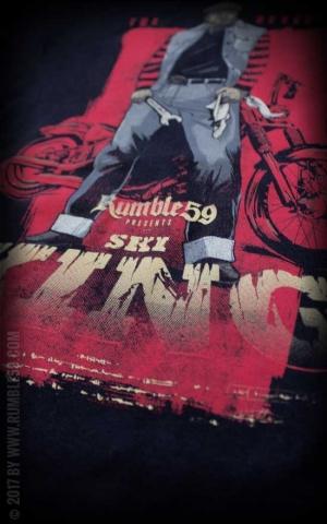 Rumble59 - T-Shirt - The Reverend Ski King