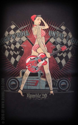 Rumble59 - Until I die - T-Shirt