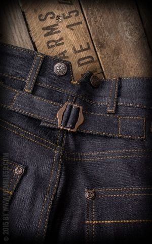 Rumble59 Jeans - RAW Worker Jeans - Woodworker