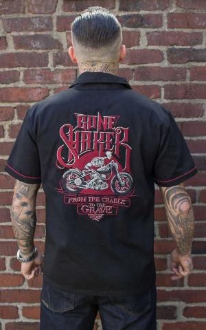 Rumble59 - Worker Shirt - Bone Shaker