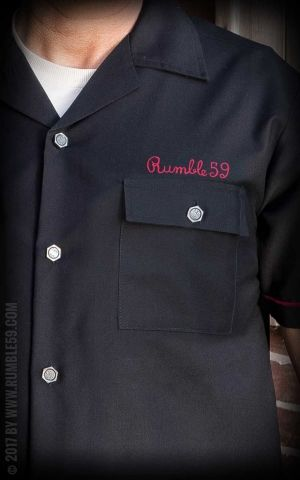 Rumble59 - Worker Shirt - Built for speed