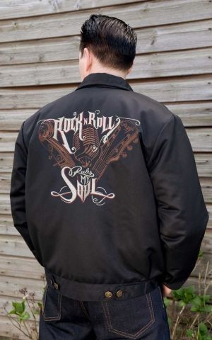 Rumble59 - Workerjacke - RnR rules my soul