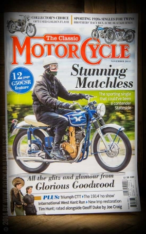 The Classic Motorcycle Magazin #November 2014