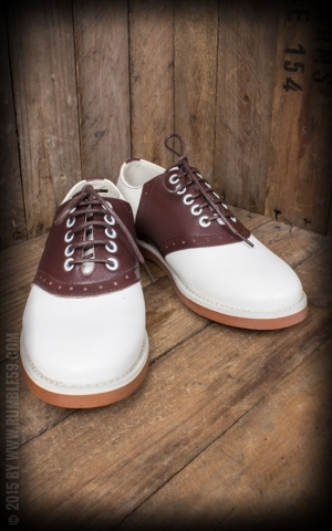 Rumble59 - Saddle Shoes for Ladies - Bony Moronie