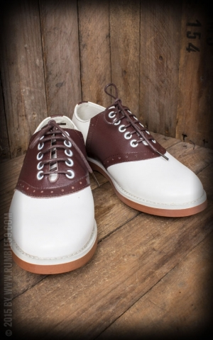 Rumble59 - Saddle Shoes pour hommes - Brown Sugar