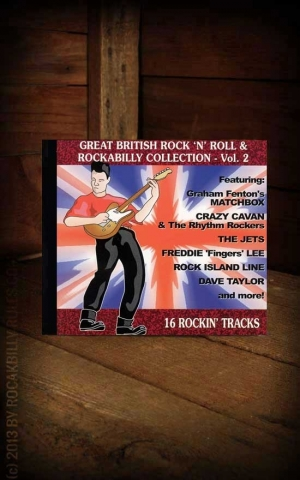 Sampler - Great British Rock 'n' Roll and Rockabilly Vol. 2