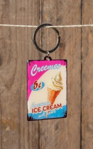 Key Chain Diner Ice Cream