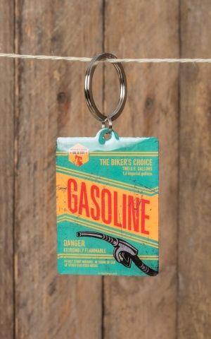 Schlüsselanhänger Gasoline