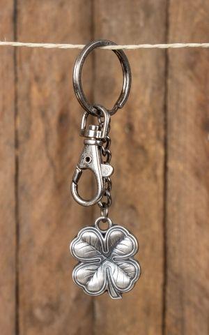 porte-clés trèfle porte-bonheur Lucky 7