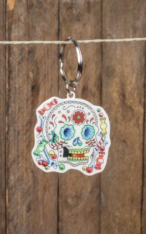Key Chain Sunny Buick Candy Sugar Skull
