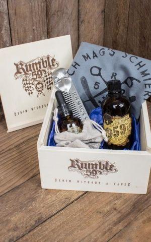 Rumble59 - Schmiere Giftset - Ich mags schmierig - Beard Care