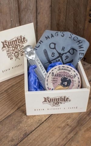 Rumble59 - Schmiere Giftset - Ich mags schmierig - Pomade strong