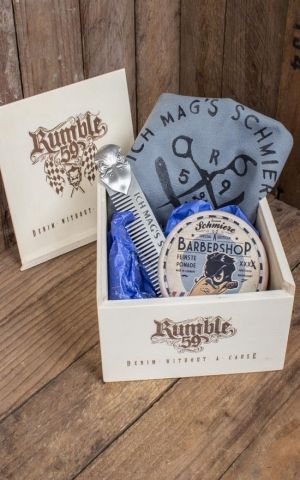 Rumble59 - Schmiere Giftset - Ich mags schmierig - Pomade rock-strong