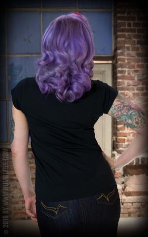 Rumble59 - Ladies Scoop Neck Shirt - Burlesque Lounge
