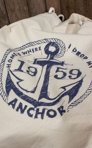 Rumble59 - Canvas Seesack - Drop my anchor