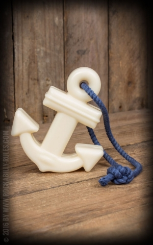 Soap in anchor design with blue rope