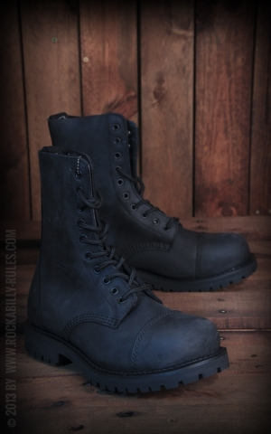 Wood Worker Boots black - handmade