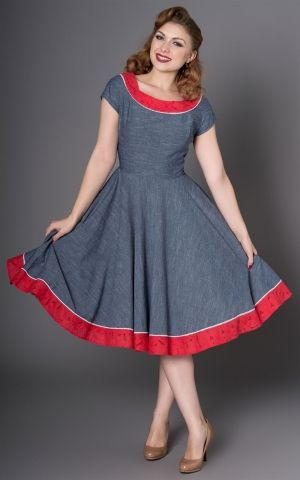 Sheen Clothing Swing Kleid Carla