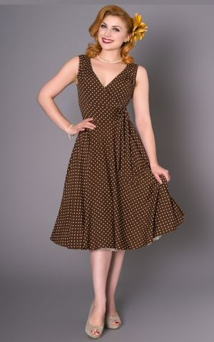 Sheen Clothing Polkadot Robe Emma