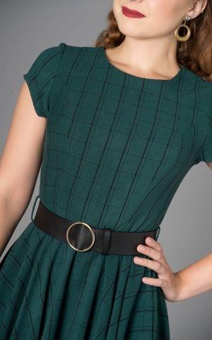 Sheen Clothing Dress Florence Plaid